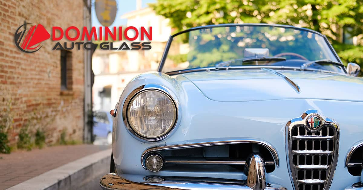 Classic car vintage windshield parts | Dominion Auto Glass